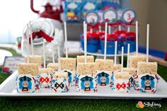 Thomas and Friends Birthday Party | CatchMyParty.com