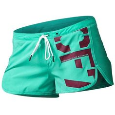 Reebok CrossFit Recycled Woven Training Short - Teal | Crossfit Apparel for Women. Look great and Feel Good while Crossfitting. A Wide Range of Crossfit Tank Tops| Singlets| Shorts| Sports Bra @ www.FitnessGirlApparel.com