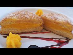 😋🍞PASTELES FÁCILES CON PAN DE MOLDE ✔️CORTADITOS DE CREMA. //BEATRIZ COCINA. - YouTube Chocolates, French Toast, Breakfast, Food, Youtube, Sweet Recipes, Cookies, Cup Cakes, Homemade Candies