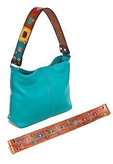 Katie Kalsi Sadie Medium Interchangeable Strap Shoulder Bag    I love her handbags..so pretty and a Memphis Artist..my hometown!!