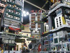【画像】レゴで作った近未来都市のクオリティが半端ないwwwwww