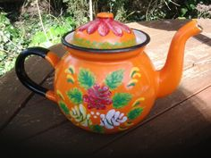 Collectable Narrowboat Romany gypsy canal bargeware by TansysFancy, £20.00