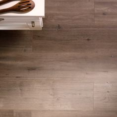 Never stress about a spaghetti spill again. With the look of real hardwood and the durability of laminate, this easy-to-install flooring is a perfect choice for any room where a stain may strike. Click to shop and learn more about Ashcombe Aged Oak Laminate flooring from The Home Depot.