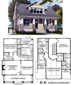 15 Best House plans images in 2019 Craftsman Foursquare House Plans Cross Html on