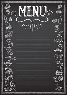 Menu Card Design, Food Menu Design, Food Poster Design, Food Background Wallpapers, Food Backgrounds, Food Menu Template, Food Graphic Design, Coffee Menu, Bakery Logo