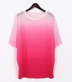 Pink Ombre Tee.  Oh so Pretty.