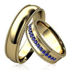 Kto povedal, že obrúčky musia vyzerať nudne? My určite nie. #rings #engagmentrings #weddingrings #3dzlatnictvo #zlatnictvo #zlateprsten #prstene Rings For Men, Wedding Rings, Engagement Rings, Jewelry, Rings For Engagement, Men Rings, Jewlery, Jewels, Commitment Rings