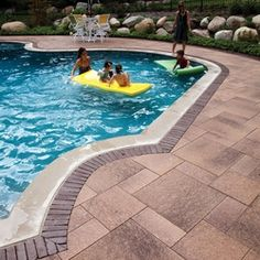 Umbriano Pool Deck with Copthorne