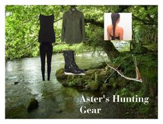 """""""Aster's hunting gear"""" by that-girl-who-you-know ❤ liked on Polyvore featuring Vero Moda, Warehouse, River Island and Sole Society"""