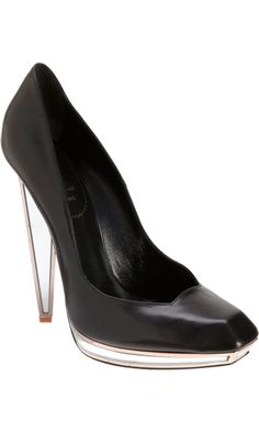 #Yves Saint Laurent Mirror Accent Pump F/W 2012 (Have to Pre-order)