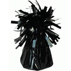 Black Frilly Balloon Weight 10Pcs