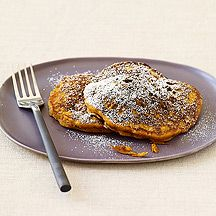 WW Pumpkin Spice Pancakes - these turned out deliciously! And made a ton. 5 points for 2
