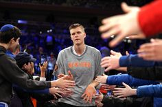 New York Knicks phenom Kristaps Porzingis threw up a mysterious Tweet that was later deleted about the Los Angeles Clippers.