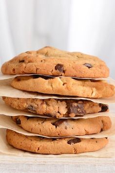 The BEST chewy chocolate chip cookie recipe EVER.