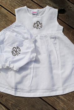 linen dress and diaper cover