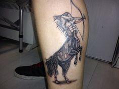 Traditional Sagittarius Tattoo