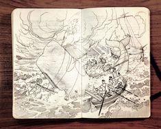 sketch by Jared Muralt