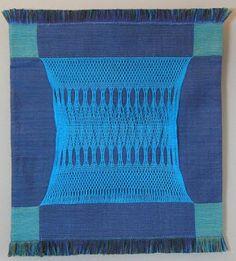 "A FiberArtisan's Weaving Path: Doubleweave Sprang ""Lace"""