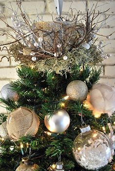 Image result for diy christmas tree toppers
