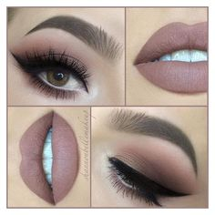 "Shannon Belle on Instagram ""Another day, another nude lip! With ❤ liked on Polyvore featuring beauty products"