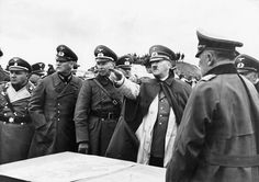 Adolf Hitler commands the attack