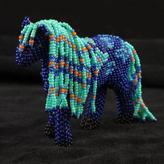 Zuni Beaded Pony (Waci'-ci Trading Co. at the Southern Ute Cultural Center & Museum)