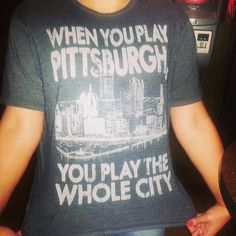 Pittsburgh for life #Pittsburgh #Blackandyellow #City