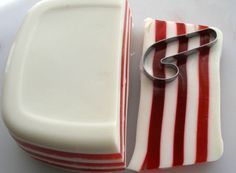 Cut Out Candy Cane Jello Shots