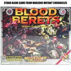 Warzone Mutant Chronicles Blood Berets Battle Board Game