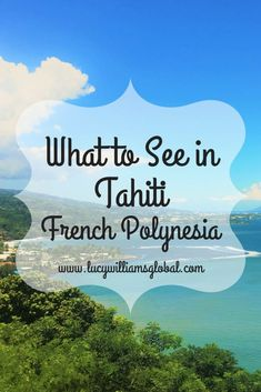 Do You Want Worldwide Vehicle Coverage? What To See In Tahiti French Polynesia - The Island Of Tahiti Is An Island Full Of Waterfalls, Lush Green Trees, Plants And Exotic Flowers, Volcanic Black Sand Beaches And A Few White Sand And Beautiful Viewpoints Fiji Travel, Cruise Travel, Travel Bag, Tahiti Islands, Tahiti French Polynesia, Green Trees, Lush Green, Romantic Travel, Australia Travel