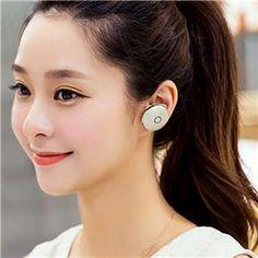 Fone de ouvido esportivo intra-auricular sem fio Bluetooth