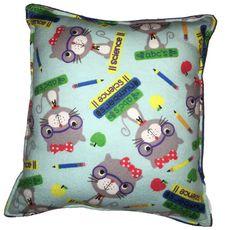 Gato inteligente almohada Linda franela suave almohada niño