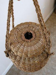 Abenaki Sweet Grass & Ash Yarn Basket.  Nice.