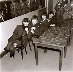 01DEC1963 The #Beatles, on a tour of Britain, perform two shows at DeMontfort Hall in Leicester.