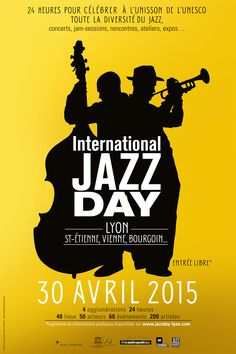 Jazz Festival, Festival Posters, St Etienne, Jazz Poster, Soul Jazz, All That Jazz, Jazz Blues, Yellow Submarine, Music Posters