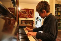A Halecat family gathering sometimes begins with songs around the piano. Want to make some music here? www.halecat.co.uk