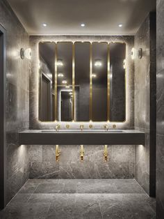 The grandeur of hotel chic bathrooms is plain to see with this particularly enchanting design.