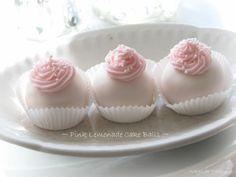 pink lemonade cake balls