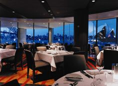 Located at Circular Quay, on the very edge of Sydney Harbour, Aria provides a dining experience with striking harbour views, with an award winning menu and extensive wine list, served in an intimate and elegant dining room.