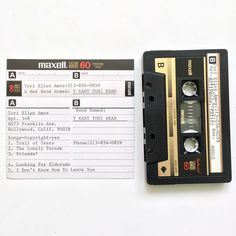 Super rare Y Kant Tori Read demo tape featuring never-released songs: Trail of Tears, The Lonely Parade, Friends, Looking for El Dorado, and I Don't Know How to Leave You.