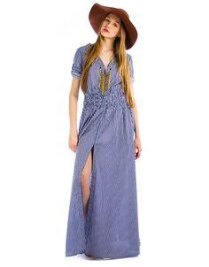 Ριγέ φόρεμα Women's Fashion, Hot, Dresses, Vestidos, Fashion Women, Dress, Womens Fashion, Woman Fashion