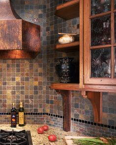 Slate Backsplash Design Pictures Remodel Decor And Ideas