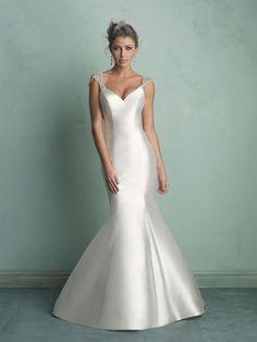 Allure Bridals : Allure Collection : Style 9158 : Available colours : White/Silver, Diamond White/Silver