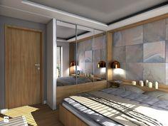 Mieszkanie prywatne Warszawa Ursynów - Średnia sypialnia małżeńska, styl minimalistyczny - zdjęcie od CKkwadrat