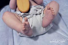 Stoffwindeltest: Disana Strickwindel (Bindewindel) cloth diapers