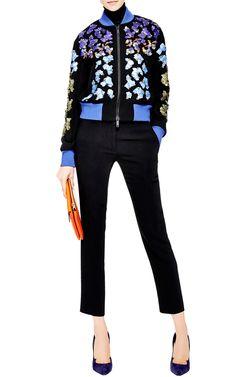 Lex Embellished Bomber Jacket by Peter Pilotto - Moda Operandi