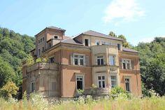 Kriebstein, Germany, alte Niethammer Villa, wo mein Geografielehrer wohnte, Dr. Pommerenke