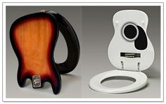 yep, guitar toilet seats - Continued!