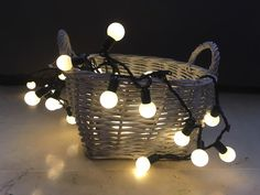 Guirnalda de luces enlazable para interior #navidad #luces #guirnalda #led