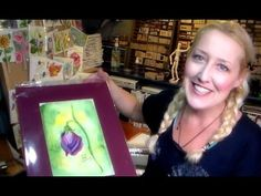Hello Friends! After sharing my farmers market adventure with you last week I had many requests for a video demonstrating how to mat a watercolor, finish the back, price and display them for sale s…